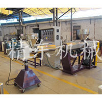 PVC软硬共胶条机生产线