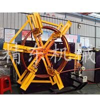 PVC PU pe新型塑料管材收卷机